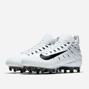 Nike Alpha Menace Elite Football Cleats - White